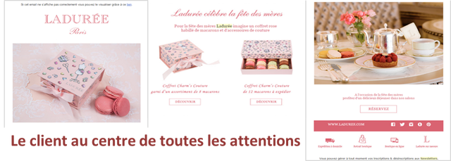 Ladurée illustrations